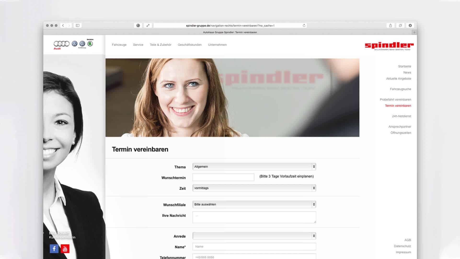 Gerryland-Referenz-Spindler-Website-Formular