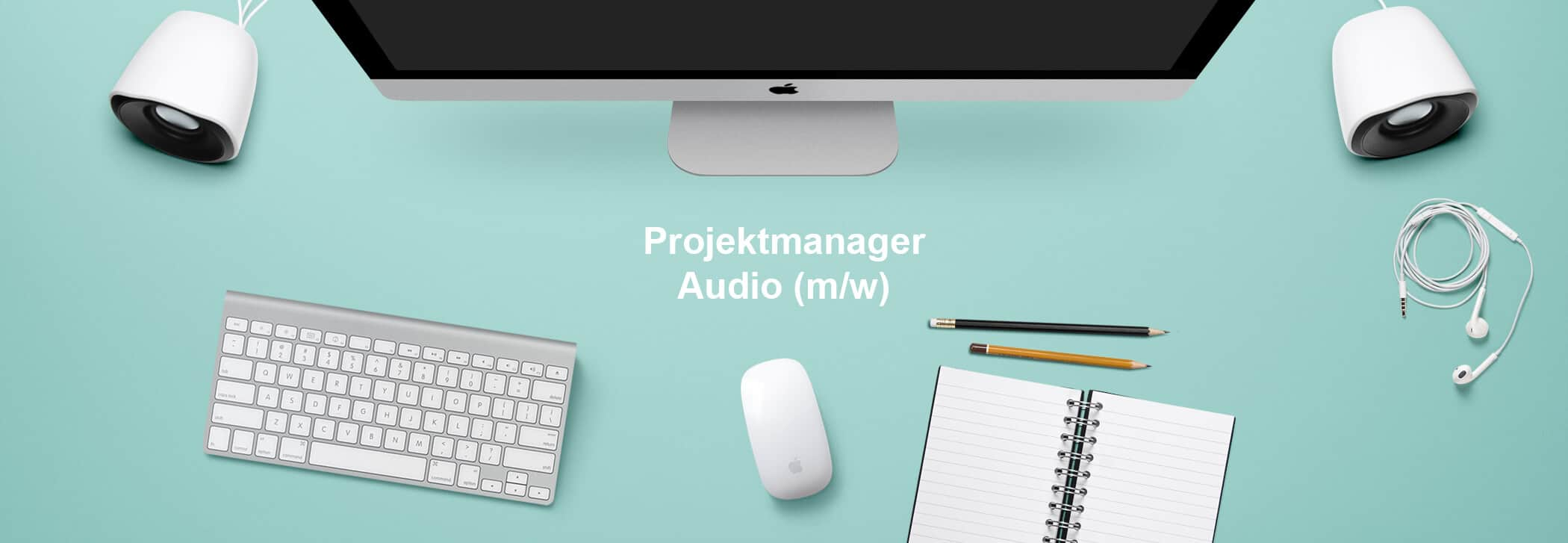 Projektmanager-Audio