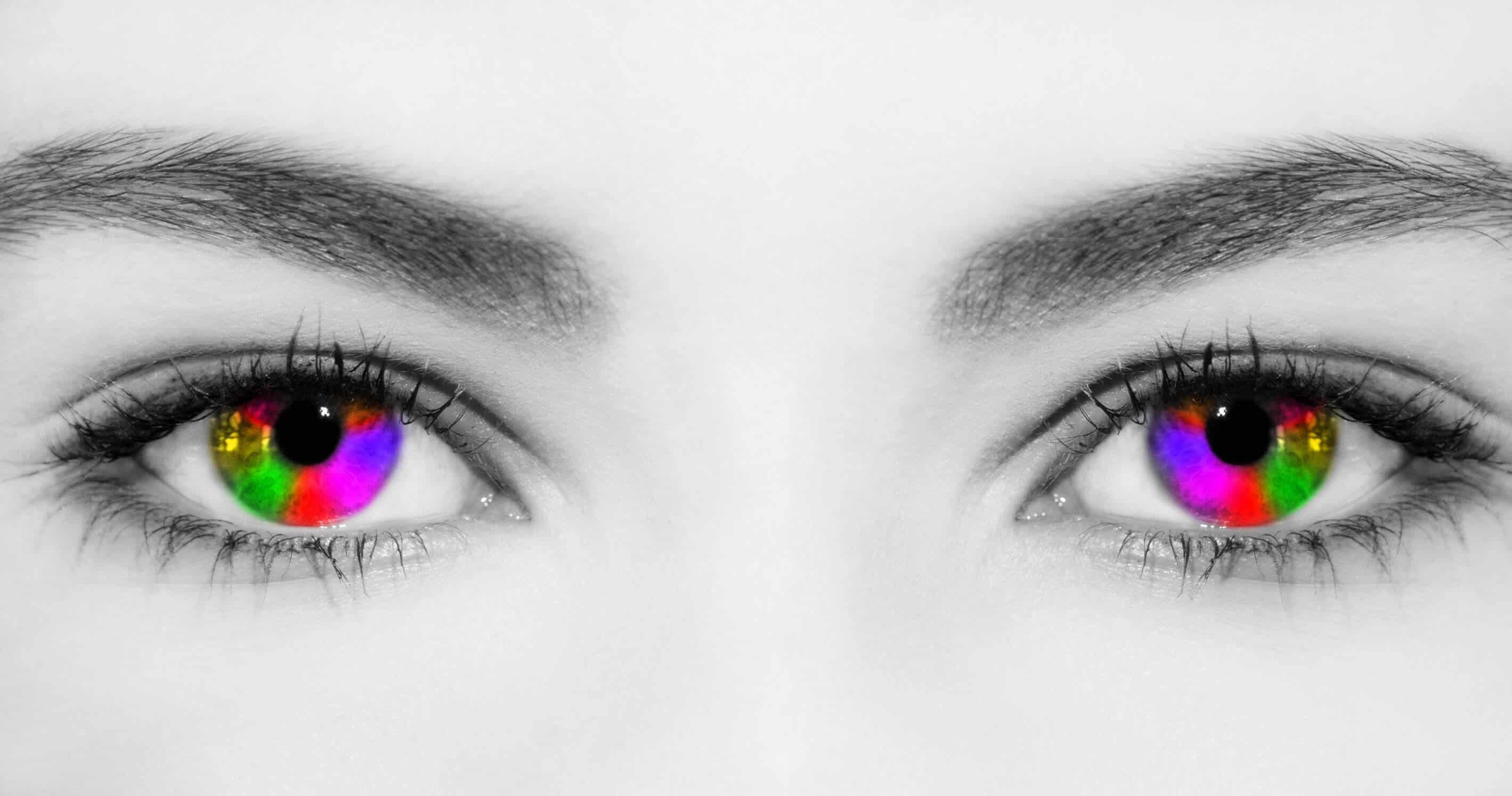 Farbige-Augen-Grafik