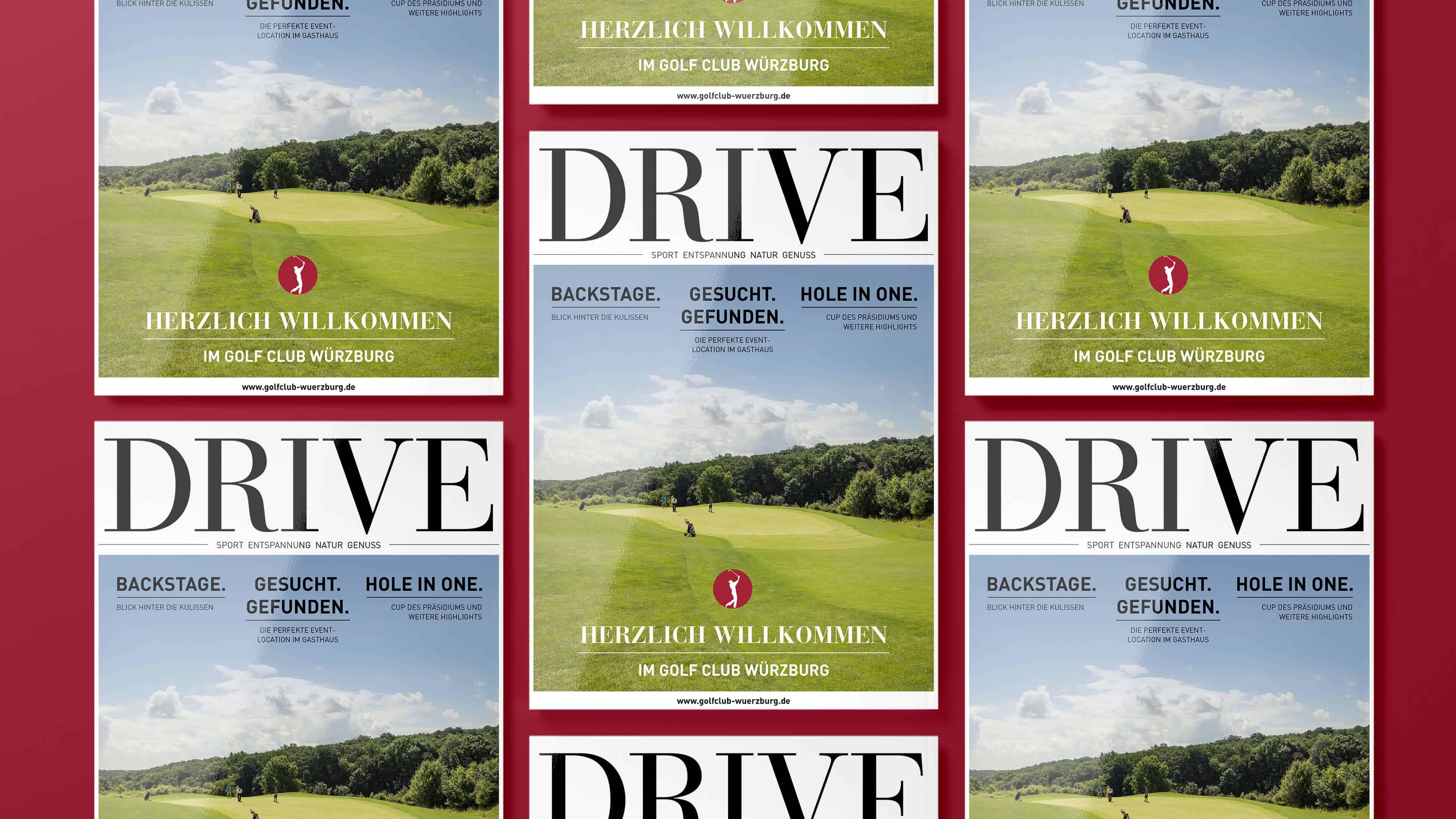 Golfclub-Jahrbuch-Cover